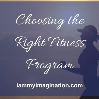 Choosing the Right Fitness Program