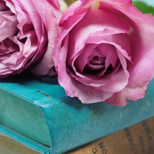 flower with books