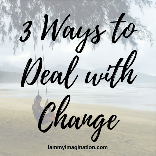 3 Ways to Deal with Change