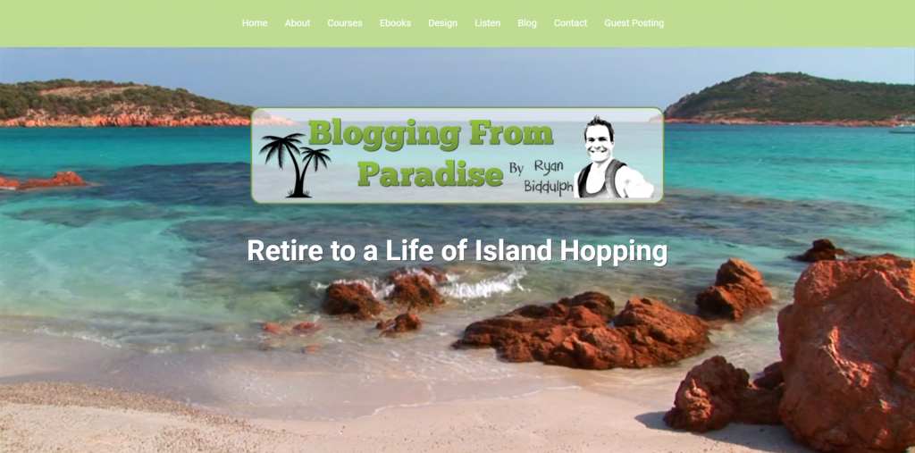 Blogging from Paradise