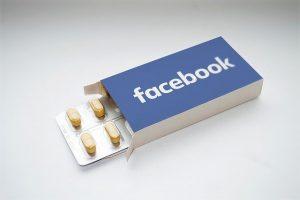 Facebook box of pills