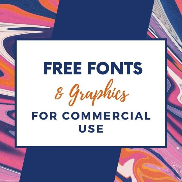 Where to Find Free Fonts and Graphics (With Commercial Use License)