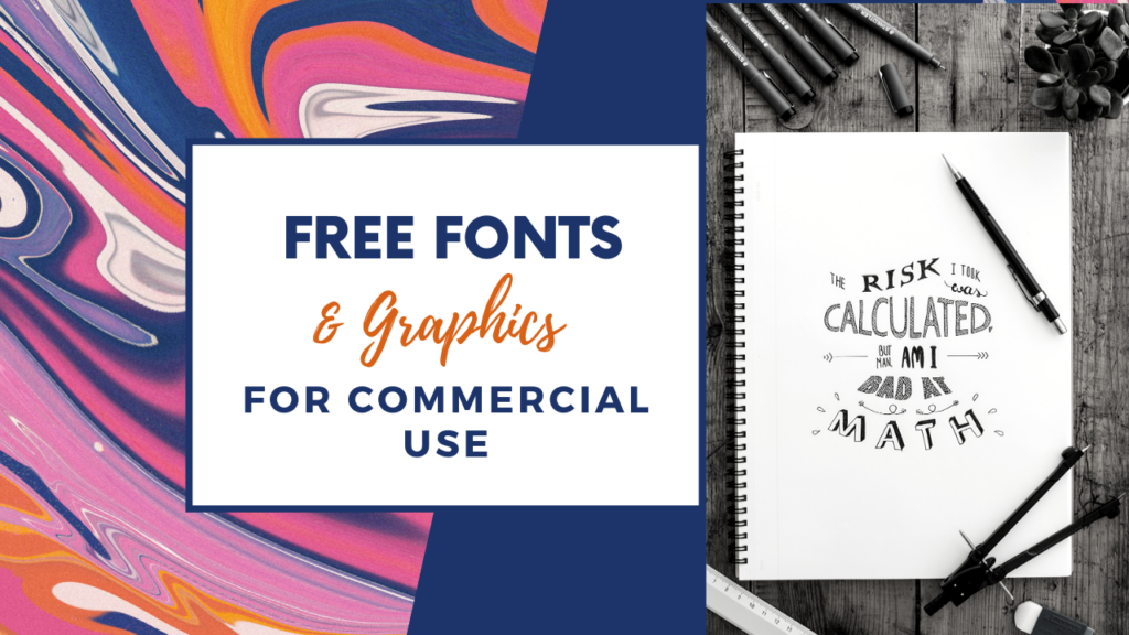 free fonts and graphics image